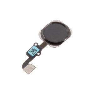 iPhone 6/6Plus Hemknapp/Ring med Flex - Svart