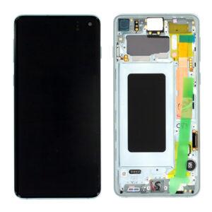 Samsung Galaxy S10 Skärm Amoled Display - Grön