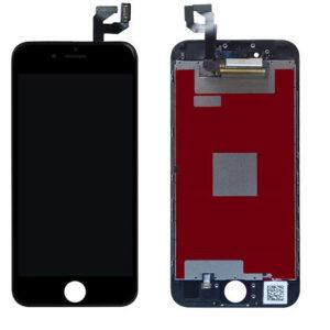 "iPhone 6 Plus Skärm Display Med Glas ""Livstidsgaranti"" - Svart"