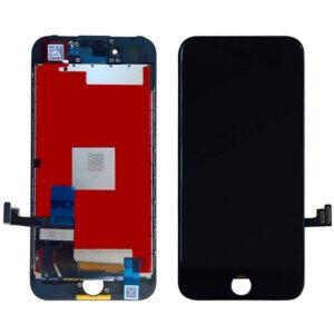 iPhone 7 Skärm Display Med Glas - Svart