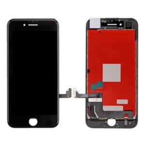 "iPhone 8 Plus Skärm Display Med Glas - Svart ""Livstidsgaranti"""
