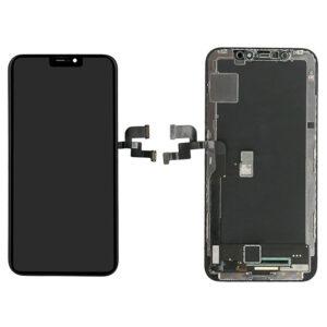 iPhone X Skärm Soft Oled - Svart