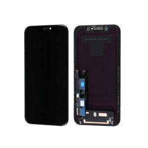 iPhone XR Skärm Display Med Glas Premium Svart