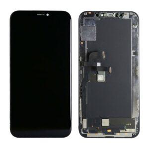iPhone XS Skärm Soft Oled - Svart