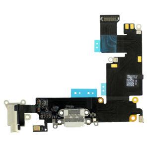 iPhone 6 Plus Laddkontakt - Vit - Original