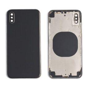 iPhone X Baksida Komplett Med Ram – Svart