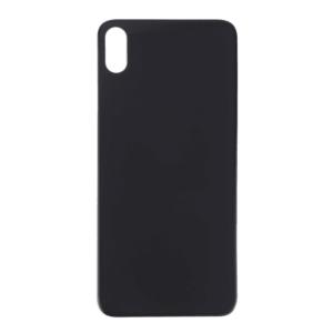 iPhone XS Max Baksida Glas - Svart