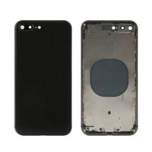 iPhone 8 Plus Baksida Komplett Med Ram – Svart