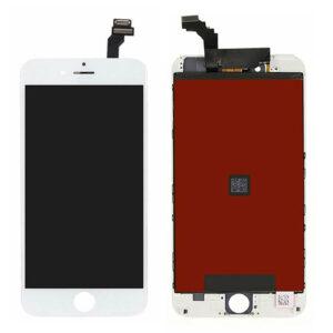 iPhone 6 Plus Skärm Display Med Glas – Vit