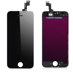 iPhone SE/5S Display Premium - Svart