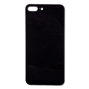 iPhone 8 Plus Baksida Glas - Svart