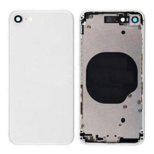 iPhone 8 Baksida Komplett Med Ram - Vit
