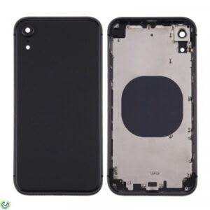 iPhone XR Baksida Komplett Med Ram - Svart