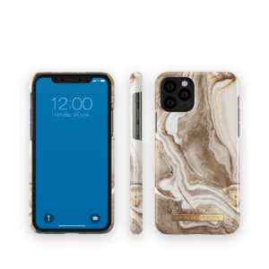 iDeal Of Sweden Golden Sand Marble iPhone 11 PRO/XS/X