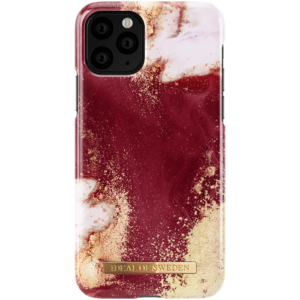 iDeal Of Sweden Golden Burgundy Marble iPhone 11 PRO/XS/X