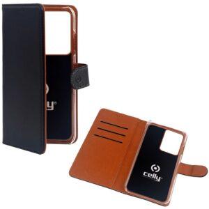 Celly Wallet Case Galaxy S20 Ultra Svart