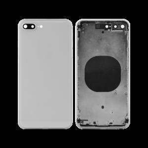 iPhone 8 Plus Baksida Komplett Med Ram – Vit
