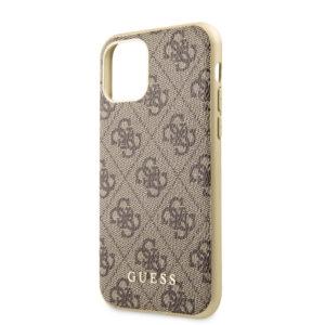 GUESS iPhone 11 Skal - Brun/Guld