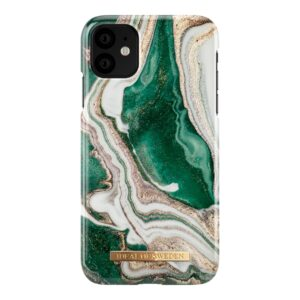 iDeal Of Sweden Case Golden Jade Marble iPhone 11/XR