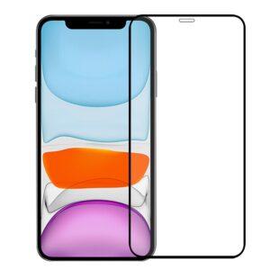 Skyddsglas Heltäckande 5D iPhone 12 Pro Max - Svart Ram