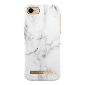 iDeal of Sweden Case White Marble iPhone 6/6S/7/8/SE