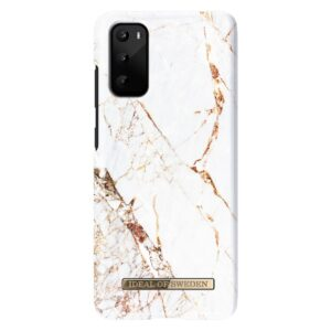 iDeal of Sweden Fashion Case Samsung Galaxy S20 Carrara Gold
