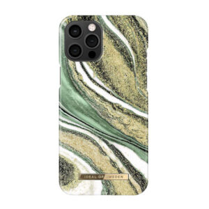 iDeal Of Sweden Fashion Case iPhone 12/12 Pro Cosmic Green Swirl