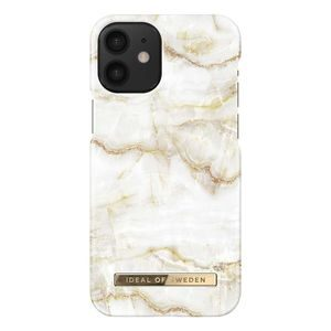 iDeal Of Sweden iDeal Fashion Case Golden Pearl Marble iPhone 12 Mini