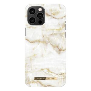 iDeal of Sweden iDeal Fashion Case Golden Pearl Marble iPhone 12 Pro Max