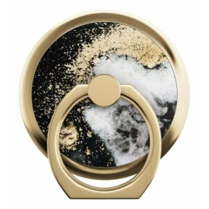 iDeal of Sweden iDeal Magnetic Ring Mount Black Galaxy Marble