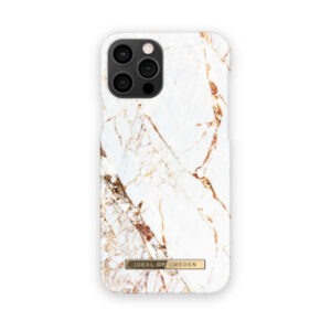 iDeal of Sweden iDeal Fashion Case Carrara Gold iPhone 12 Pro Max