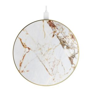 iDeal Of Sweden iDeal Fashion Qi Charger Laddningsplatta - Carrara Gold Marble