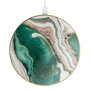 iDeal Of Sweden iDeal Fashion Qi Charger Laddningsplatta - Golden Jade Marble