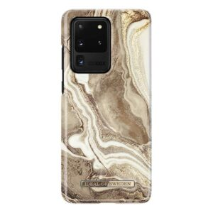 iDeal of Sweden Fashion Case Samsung Galaxy S20 Ultra Golden Sand Marble