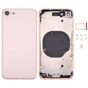 iPhone 8 Baksida Komplett Med Ram - Guld