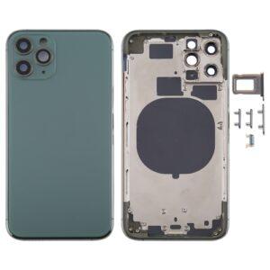 iPhone 11 Pro Baksida Komplett Med Ram - Grön