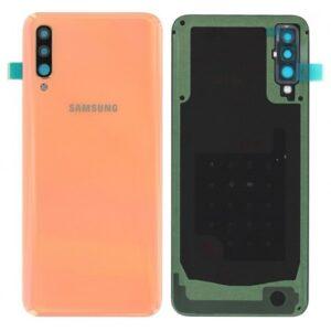 Samsung Galaxy A50 Baksida/Batterilucka - Original - Orange
