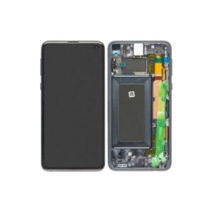 Samsung Galaxy S10E Skärm Med LCD Display - Svart