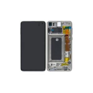 Samsung Galaxy S10E Skärm Med LCD Display - Vit