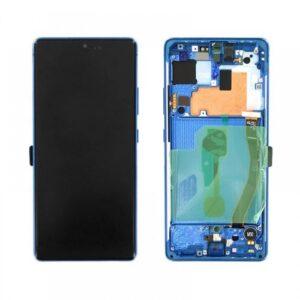 Samsung Galaxy S10 Lite Skärm med LCD Display - Blå