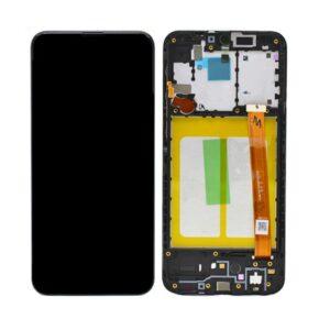 Samsung Galaxy A20e Skärm Med LCD Display - Original - Svart