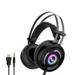 iPega PG-R008 RGB Gaming Headset med Mikrofon - Svart