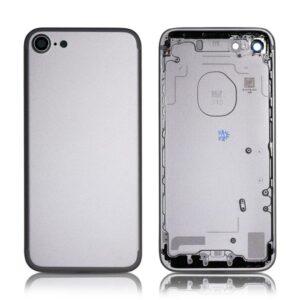 iPhone 7 Baksida Komplett Med Ram - Silver