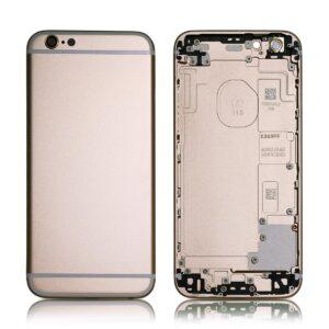 iPhone 6 Plus Baksida Med Ram - Guld