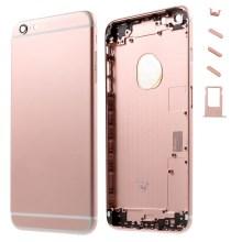 iPhone 6S Baksida Med Ram - Roseguld