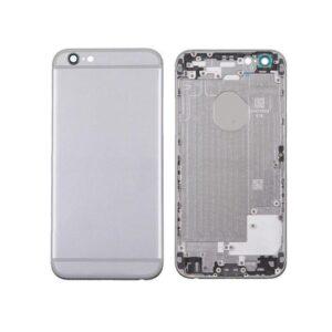 iPhone 6S Baksida Med Ram - Silver