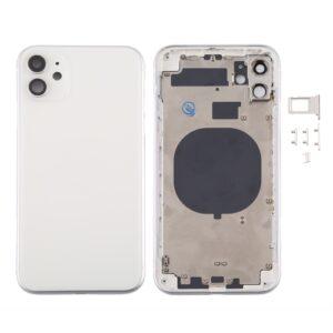 iPhone 11 Baksida Komplett Med Ram - Vit