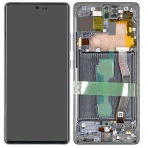 Samsung Galaxy S10 Lite Skärm med LCD Display - Svart