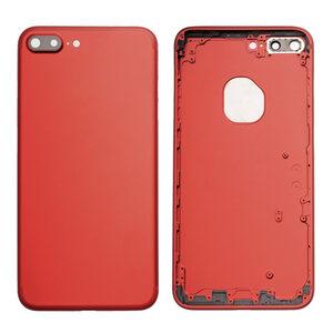 iPhone 7 Plus Baksida Med Ram - Röd