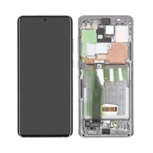 Samsung Galaxy S20 Ultra Skärm Med LCD Display - Original - Grå
